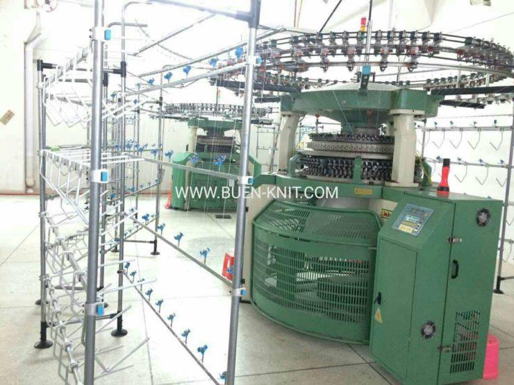 circular knitting machine production
