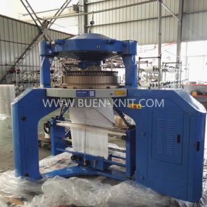 rib-interlock double knit machine