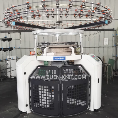 Three Thread Fleece Circular Knitting Machine