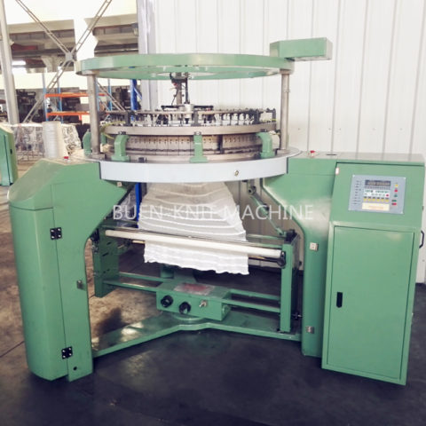 double face loop terry circular knitting machine