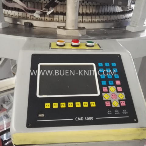 chuangda selection computer-system single jersey knit machine
