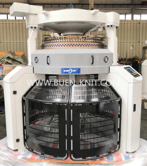 double jersey electronic jacquard circular knitting machines