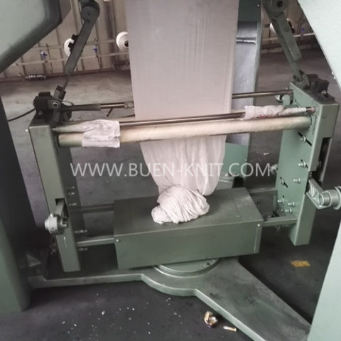 body size single jersey knitting machine