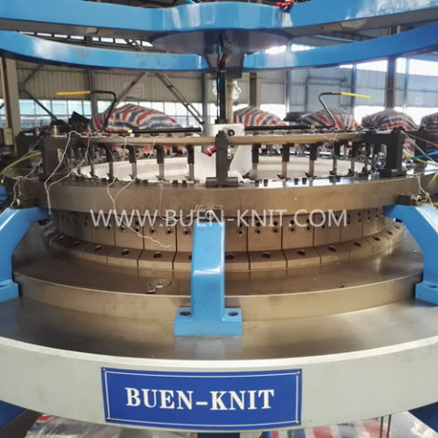 single face terry loop pile circular knitting machine