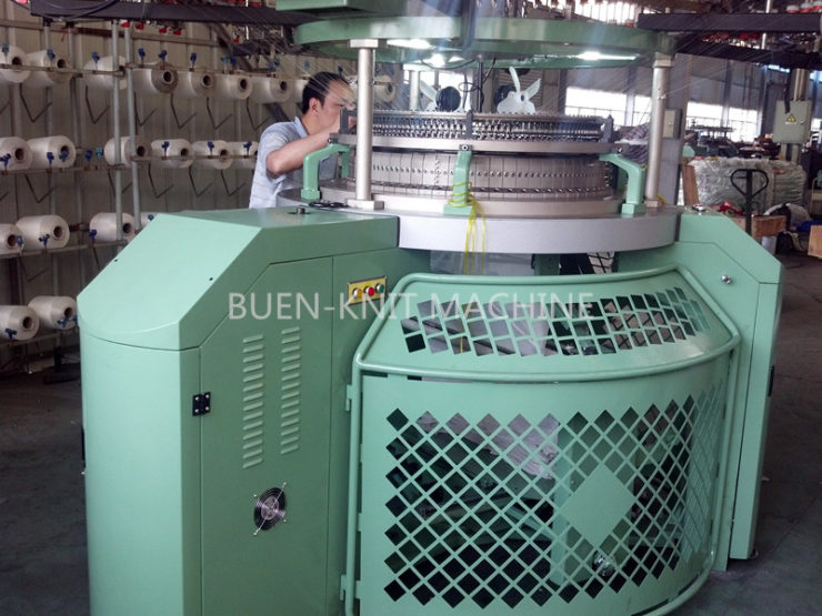Maintenance of circular knitting machine