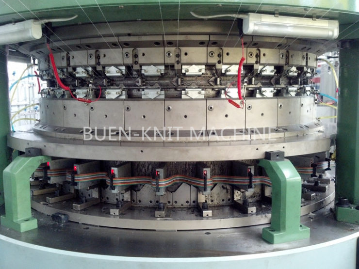 double cylinder purls circular knitting machine