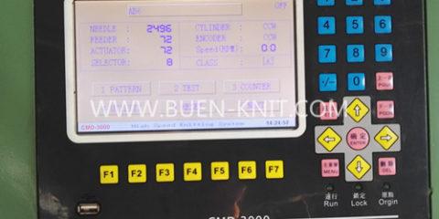Computerised Jacquard Circular Knitting Machine