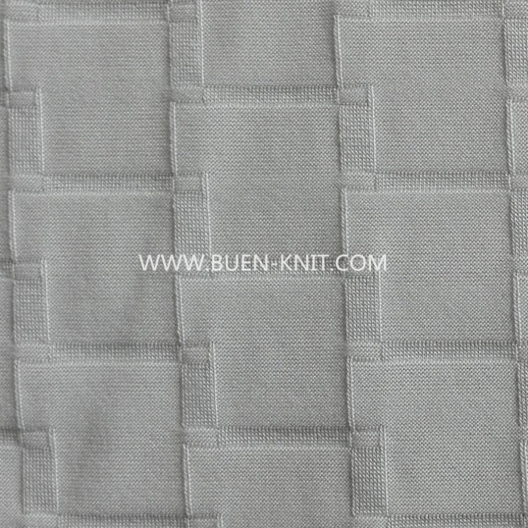 BUEN-KNIT LINKS JACQUARD FABRIC