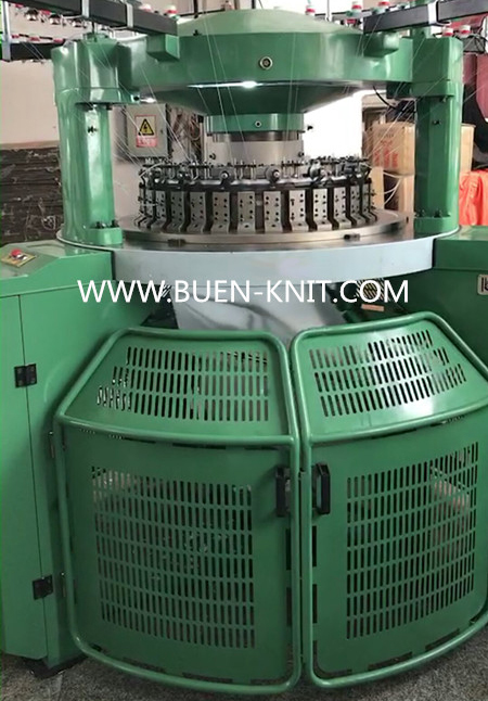 high pile loop cutting circular knitting machine