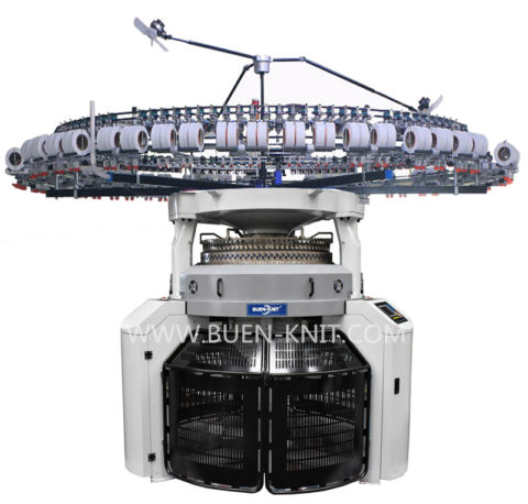 double jersey electronic jacquard circular knitting machine